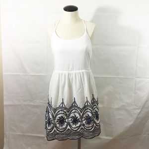 P6 Impeccable Pig Embroidered Tunic Dress